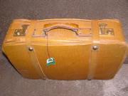 Кожаный чемодан Польша
